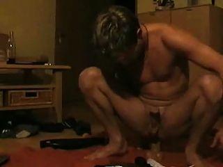 Boy Playin With Dildo