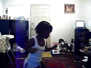 Thick Black Midget Dancing