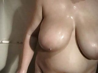 Busty Bbw Taking Shower By Clessemperor