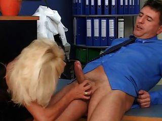 German Blond 40yaers Old Maturen Gets Fucked