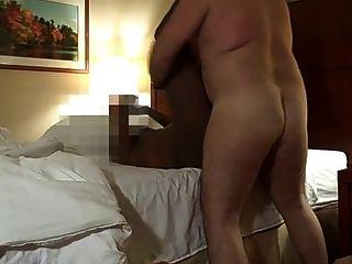White Top Plows Tight Blk Chub Ass Bareback
