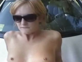 Amateur Gets Fucked On The Hood Of The Car