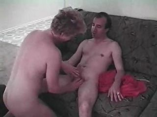 Granny Makes Him Cum