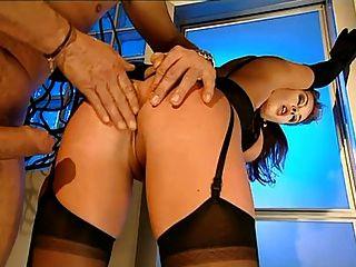 Krystal De Boor - German Lady Gangbanged