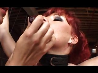 Redhead Milf Gets Treated Roughly By Her Owners