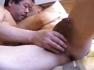 Japanese Mature Man Orgy