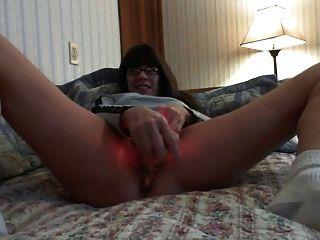 Mature Milf Hard Orgasm On Daybed