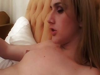 Two Very Horny Cute Skinny Blondes T-girls .