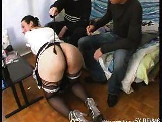 French Maid Threesome