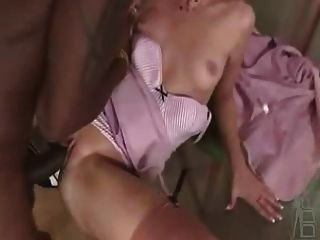 Blonde Office Babe Wants Bbc Delivered