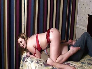 Hot Chubby Mistress Facesits Her Slave