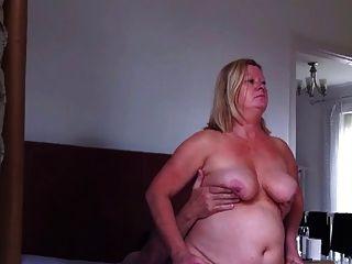 Fat Wife Enjoys Cock