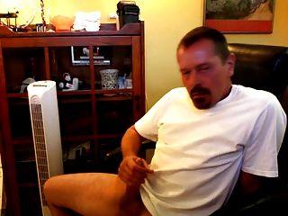 Hot Daddy Jerking