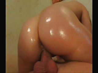 Oiled Up Booty Ready To Fuck
