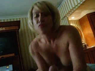 Sexy Blonde Wife Blowjob