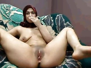 Hijab Arab Girl Plays Cums Lactate On Cam