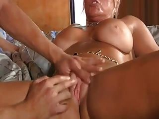 Blonde Slutty Cougar