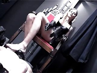 Slave Has To Worship Every Square Millimeter