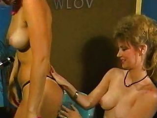 Classic Girl-girl Scene. Gail Sterling Vs Nina Hartley.