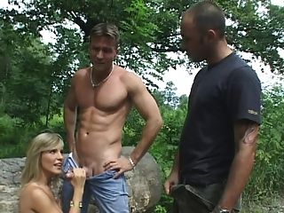 Tiffany Russo Mmf Threesome The Woods