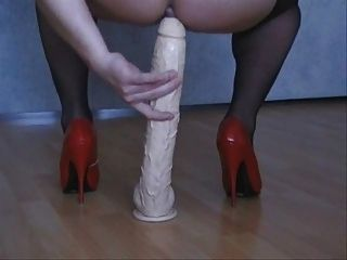 Heels And Dildo