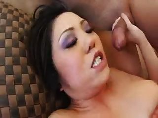 Asian Girl Swallow Two Cum