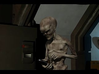 3d Animation: Alien 2