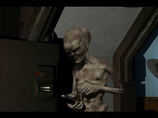 3d Animation: Alien 2