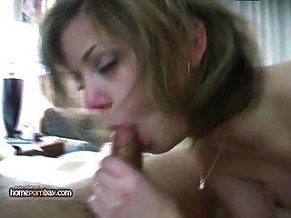 Cute Amateur Girlfriend Gives Hot Blowjob