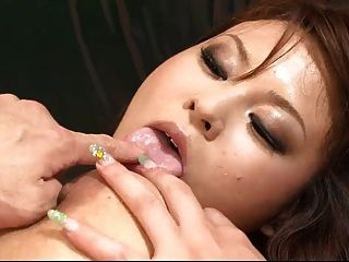 Big Titty Airi Ai And Her Big Tits Are Fucked Like Mad By A