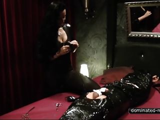 Femdom  - Mistress Plays Kinky Orgasm Control With Her Slave