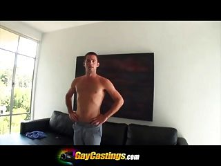 Gaycastings Hairy Hole Gets Pounded For His First Time On Ca