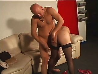 Small Dick Shemale Gets Nailed
