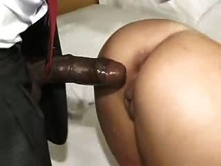 Young Blonde Babe Takes An Old Bbc Up Her Arse