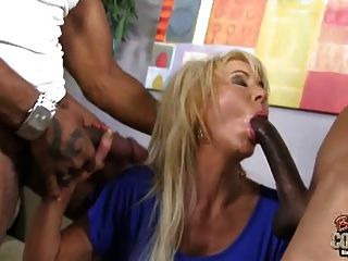 Mature Erica Lauren Fucked By 2 Black Monster Cocks
