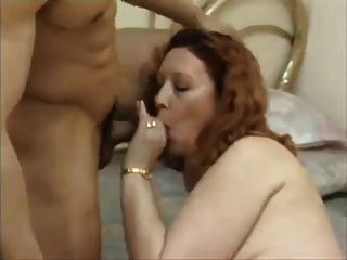 Hairy Mom Rides On Young Cock
