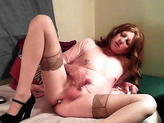 Debbie In Pink Lingerie
