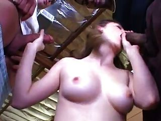 Hot Fucking Girl Taking 2 Guys