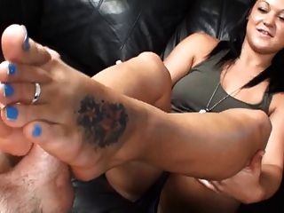 Veronicas Pedicure Footjob