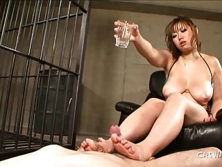 Japanese Prisoner Footjob