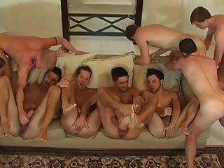 Ass Lick Orgy