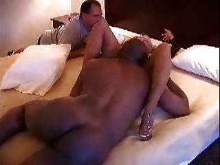 Wife Works Black Pole, Cuckold
