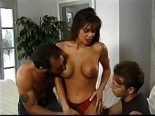 British Milf Nici Stirling Threesome Whilst Husband Watches