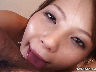 Beautiful Teen Sayaka Minami Hottest Blowjob