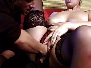 Mature Double Fisted