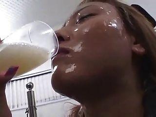 Cum Drinking Sluts 2