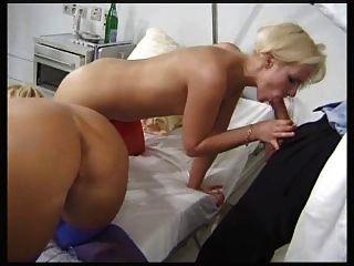 2 Blond Nurses Fucked