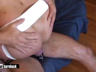 Beefy Bottom Twink Takes Big Cock Massage