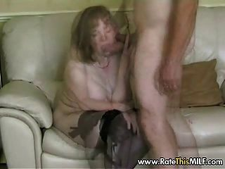 Sucks cock mature pantyhose mature saggy