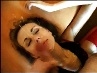 Friends Mom Recieving Huge Cumshot